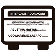 Cartel de Intercambiador Acart